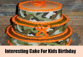 some interesting kids birthday cake ideas different types of