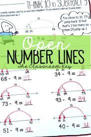 Regrouping Worksheets Best 25 Open Number Line Ideas On Pinterest Number Line