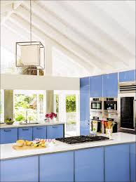 Light Blue Kitchen Cabinets by Kitchen Backsplash With White Cabinets Gray Floor Kitchen Light