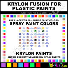 krylon fusion for plastic spray paint aerosol colors krylon