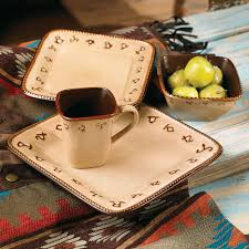 rustic wildlife dinnerware sets with moose u0026 bear designs