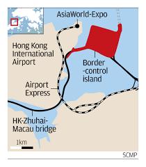 seven metre drift on hong kong artificial island reclaimed for