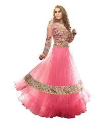 frock images stylescloset pink designer frock style anarkali dress