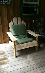 Skull Adirondack Chair Easy To Make Pallet Chair For Outdoor Garden