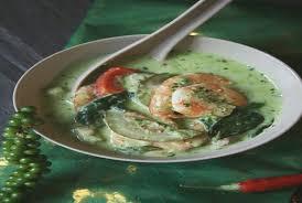 cuisiner citronnelle citronnelle cuisine unique curry thaa vert aux crevettes et lait de