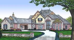 English Style House Plans by English Country Style House Plans Plan 8 601
