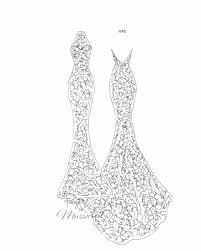 mussared handmade silk wedding dresses melbourne sketches gallery