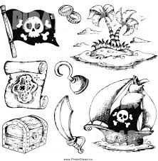Blank Pirate Treasure Map by Treasure Map Clipart Black And White Collection