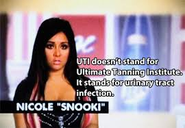 Snooki Meme - it s not an sti urinary tract infections laughter and humor