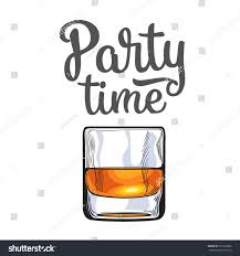 old fashioned cocktail clipart scotch whiskey rum brandy shot glass stock vector 517920958