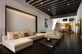rooms with dark hardwood floors modern and luxury living room
