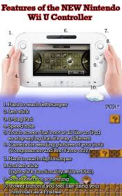 Wii U Meme - features of the new nintendo wii u controller chart smosh