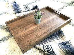 Large Wooden Ottoman Tray Wooden Trays For Ottoman Etechconsulting Co