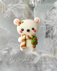 best 25 polymer clay ornaments ideas on