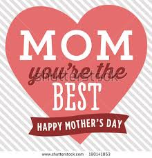 you it you buy it s day heart youre best happy mothers day stock vector 190141853