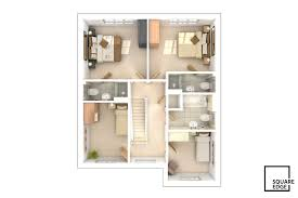 3d floor plans square edge 3d architectural visualisation london