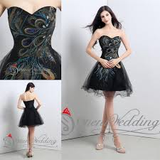2015 new arrival party cocktail dresses women short black prom