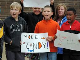 halloween city strongsville ohio students march to city hall with petitions to persuade brook park