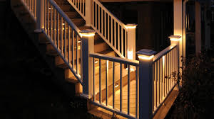 image of install deck stair lights