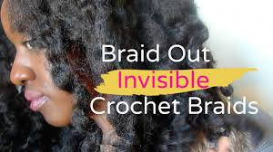 how do you curl cuban twist hair braidout on crochet braids cuban twist hair youtube