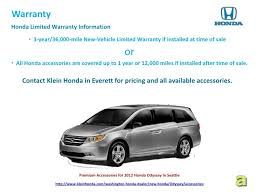 2012 honda odyssey warranty premium accessories for 2012 honda odyssey in seattle 9 728 jpg cb 1335415103