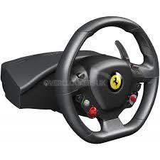 458 italia wheel for xbox 360 thrustmaster 458 italia xbox 360 pc 4460094 ocuk