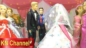 barbie ken lovely wedding ceremony barbie doll