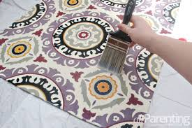 Diy Area Rug From Fabric Diy Fabric Rug Tutorial