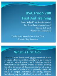 download boy scout first aid merit badge training docshare tips