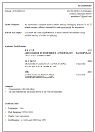 what is the format of a resume resume format for freshers engineers ece gentileforda