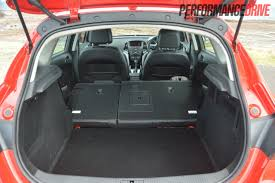vauxhall mokka trunk 2012 opel astra sports review performancedrive
