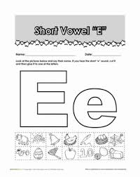 short e vowel worksheets free worksheets library download and