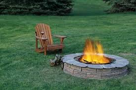 a backyard make a backyard fire pit gorilla glue