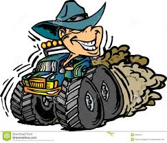 monster truck videos free download cowboy on monster truck stock photography image 5560372