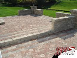 Patio Brick Pavers Ideas Patio Brick Designs Looking Lake County Il