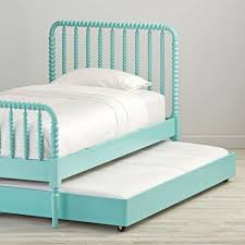 queen jenny lind white bed by land of nod havenly