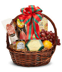 gourmet basket season s greetings gourmet basket at from you flowers