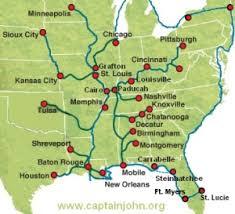 tombigbee waterway map great loop route distance