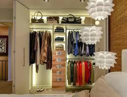 walk in closet lighting led closet lighting ideas simplicity of small railing master clo