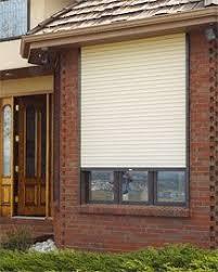 Sun Blocking Window Treatments - exterior rolling shutters window treatment light heat sun blocking