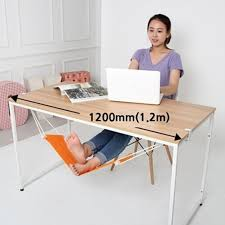 12 Foot Hammock Stand 65 5 15 5cm Office Foot Rest Stand Desk Feet Hammock Easy To