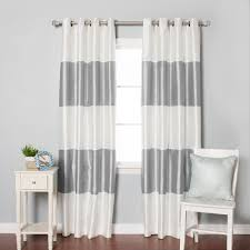 Curtains White And Grey White And Grey Blackout Curtains Affordable Modern Home Decor