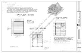 free sample cabin plan h235 1260 sq ft 1 bedroom 1 bath main 600