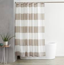 amazon com amazonbasics shower curtain with hooks treated to