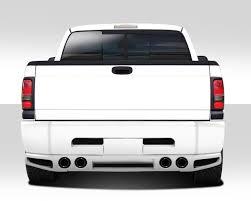 Dodge Ram 1500 Truck Parts - 112055 1994 2001 dodge ram duraflex bt 2 rear bumper cover 1 piece