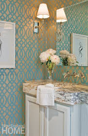 wallpaper ideas for small bathroom small bathrooms come alive with these 20 stylish transformations