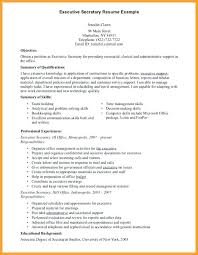 district secretary resume sample 4 examples word doc format