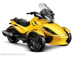 spyder 2013 st s three wheeled motorcycle can am roadster