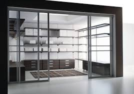 Bedroom Sliding Cabinet Design Extraordinary Closet Cabinets With Glass Doors Roselawnlutheran