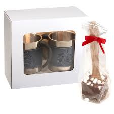 hot cocoa gift set casablanca coffee cups hot cocoa gift set personalization